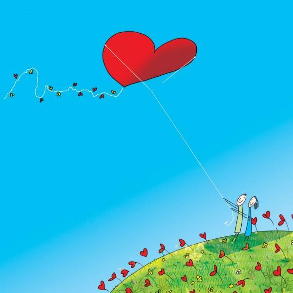 Κάρτα αγάπης q411